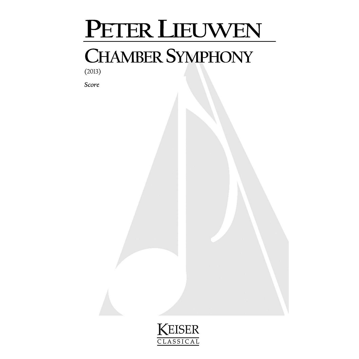 Lauren Keiser Music Publishing Chamber Symphony (Full Score) LKM Music Series by Peter Lieuwen thumbnail