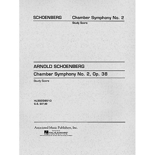 G. Schirmer Chamber Symphony No. 2, Op. 38 (Study Score No. 97) Study Score Series Composed by Arnold Schoenberg thumbnail