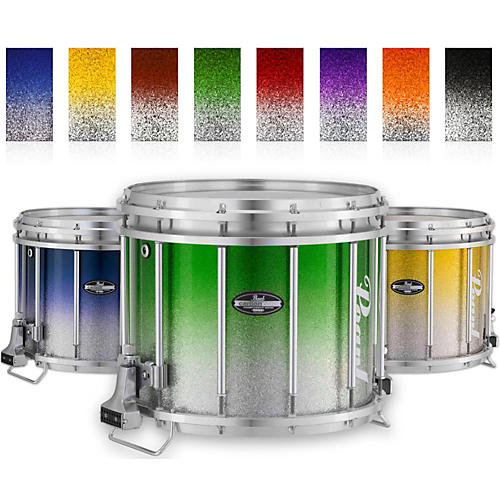 Pearl Championship CarbonCore Varsity FFX Marching Snare Drum Fade Top Finish thumbnail