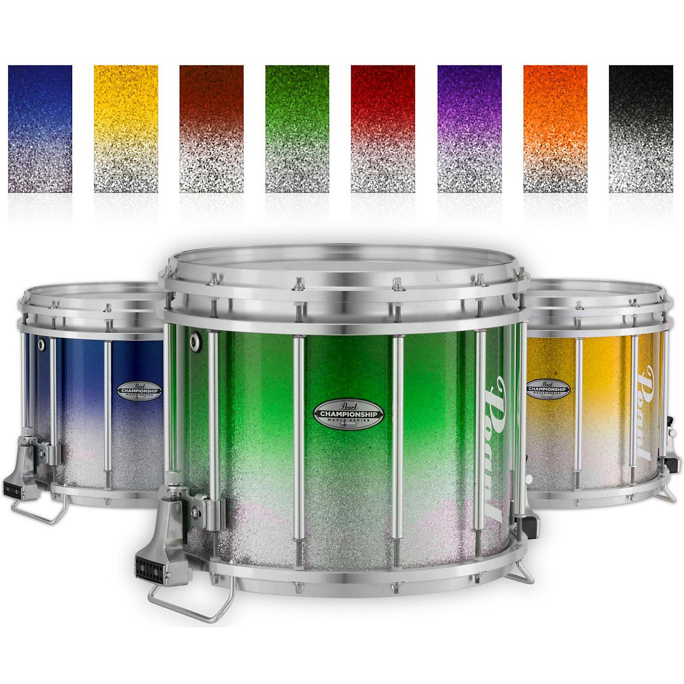 Pearl Championship Maple Varsity FFX Marching Snare Drum Fade Top Finish thumbnail