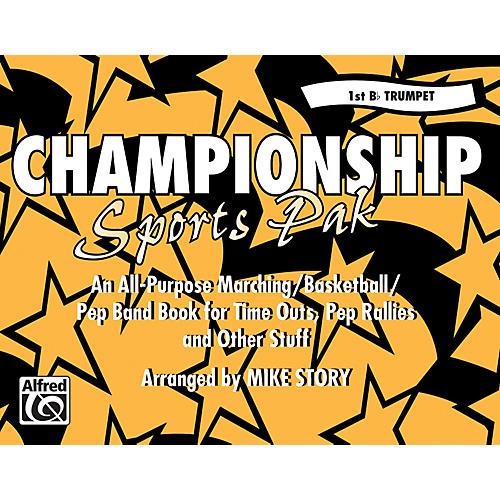Alfred Championship Sports Pak 1st B-Flat Trumpet-thumbnail