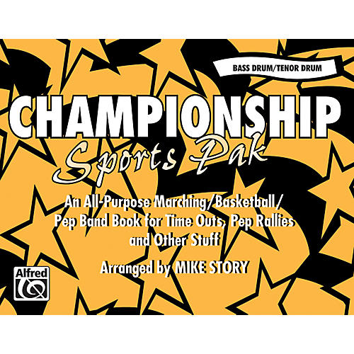 Alfred Championship Sports Pak Bass Drum/Tenor Drum thumbnail