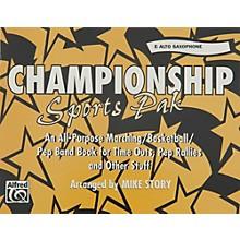 Alfred Championship Sports Pak E-Flat Alto Saxophone