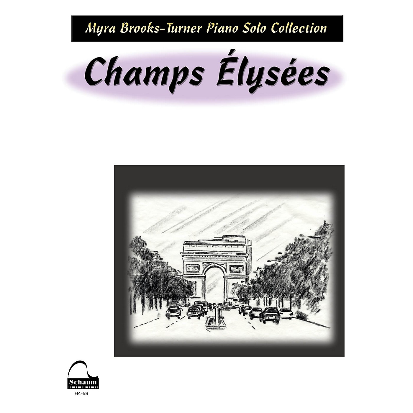 SCHAUM Champs Elysees Educational Piano Series Softcover thumbnail