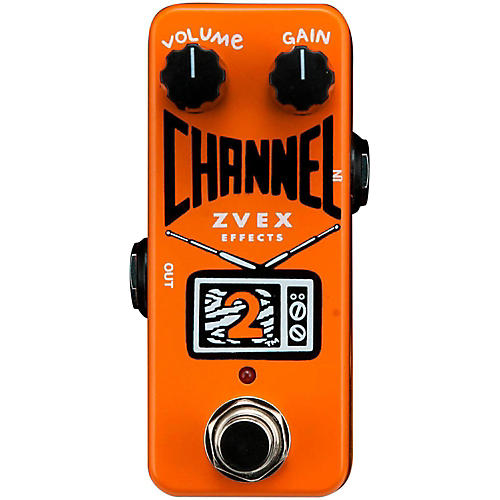 ZVex Channel 2 Overdrive Guitar Effects Pedal thumbnail