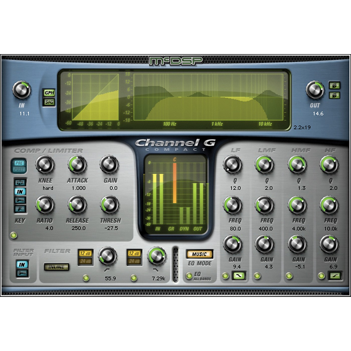 McDSP Channel G Compact HD v6 Software Download thumbnail