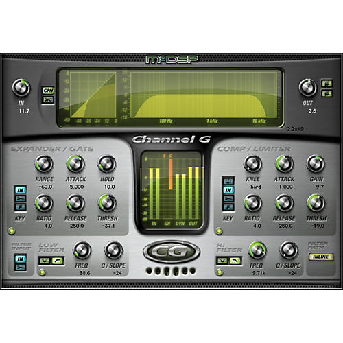 McDSP Channel G HD v6 Software Download thumbnail