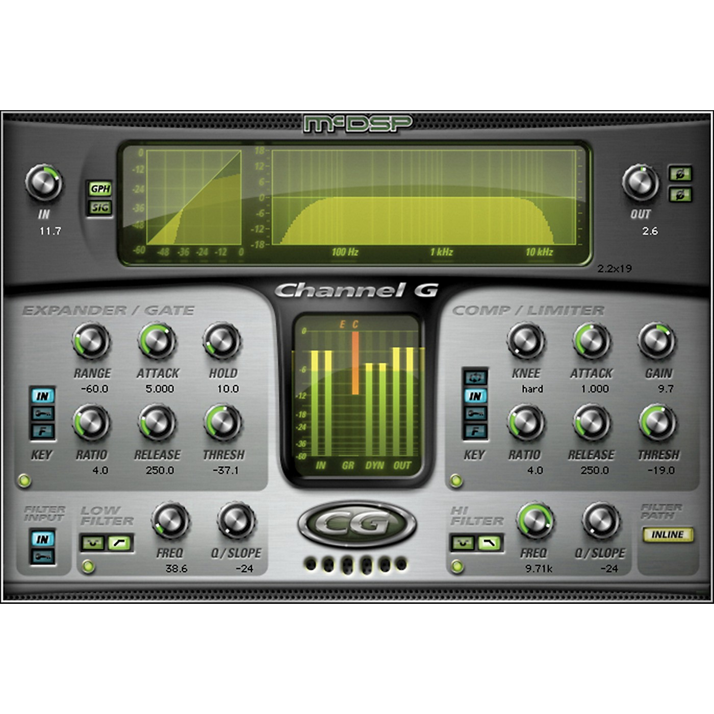 McDSP Channel G Native v6 Software Download thumbnail