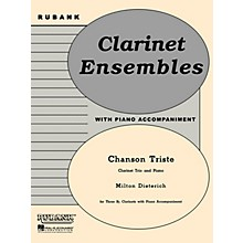 Rubank Publications Chanson Triste (Three Bb Clarinets with Piano - Grade 2.5) Rubank Solo/Ensemble Sheet Series