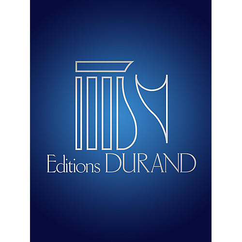 Editions Durand Chansons Villageoises (Voice and Piano) Editions Durand Series Composed by Francis Poulenc thumbnail