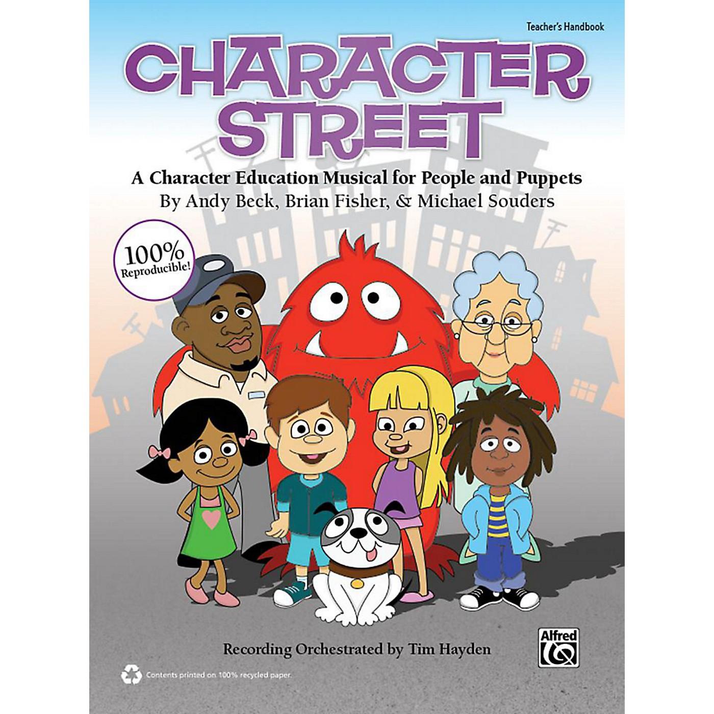 Alfred Character Street Book & CD thumbnail
