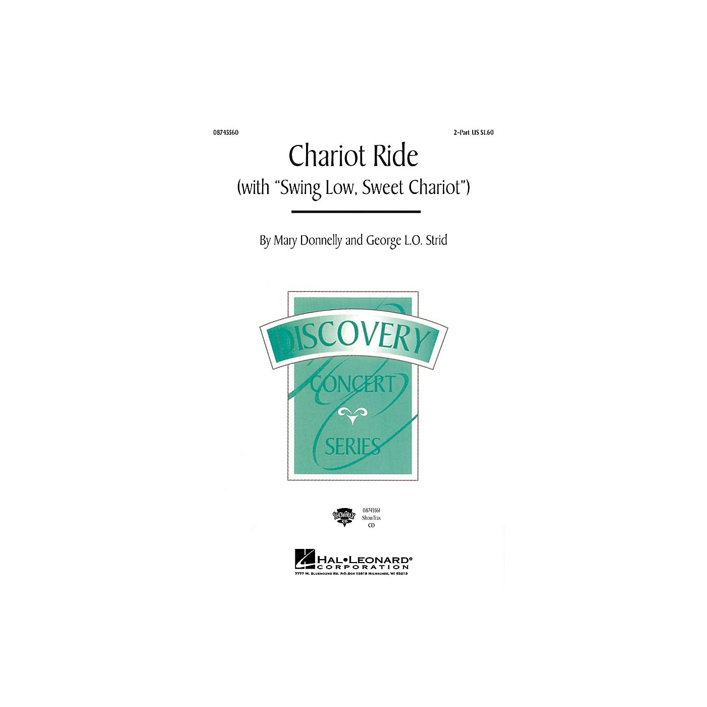 Hal Leonard Chariot Ride (with Swing Low, Sweet Chariot) ShowTrax CD thumbnail