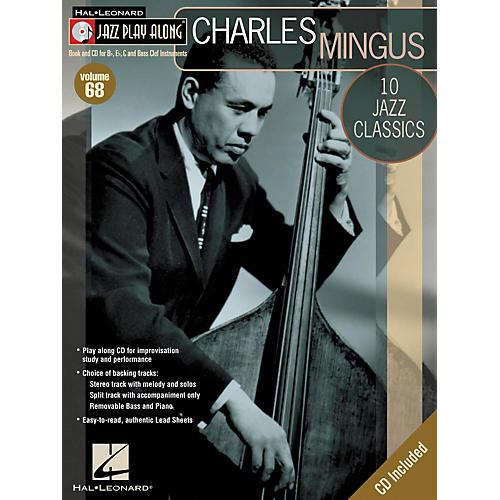 Hal Leonard Charles Mingus - Jazz Play Along Volume 68 Book with CD thumbnail