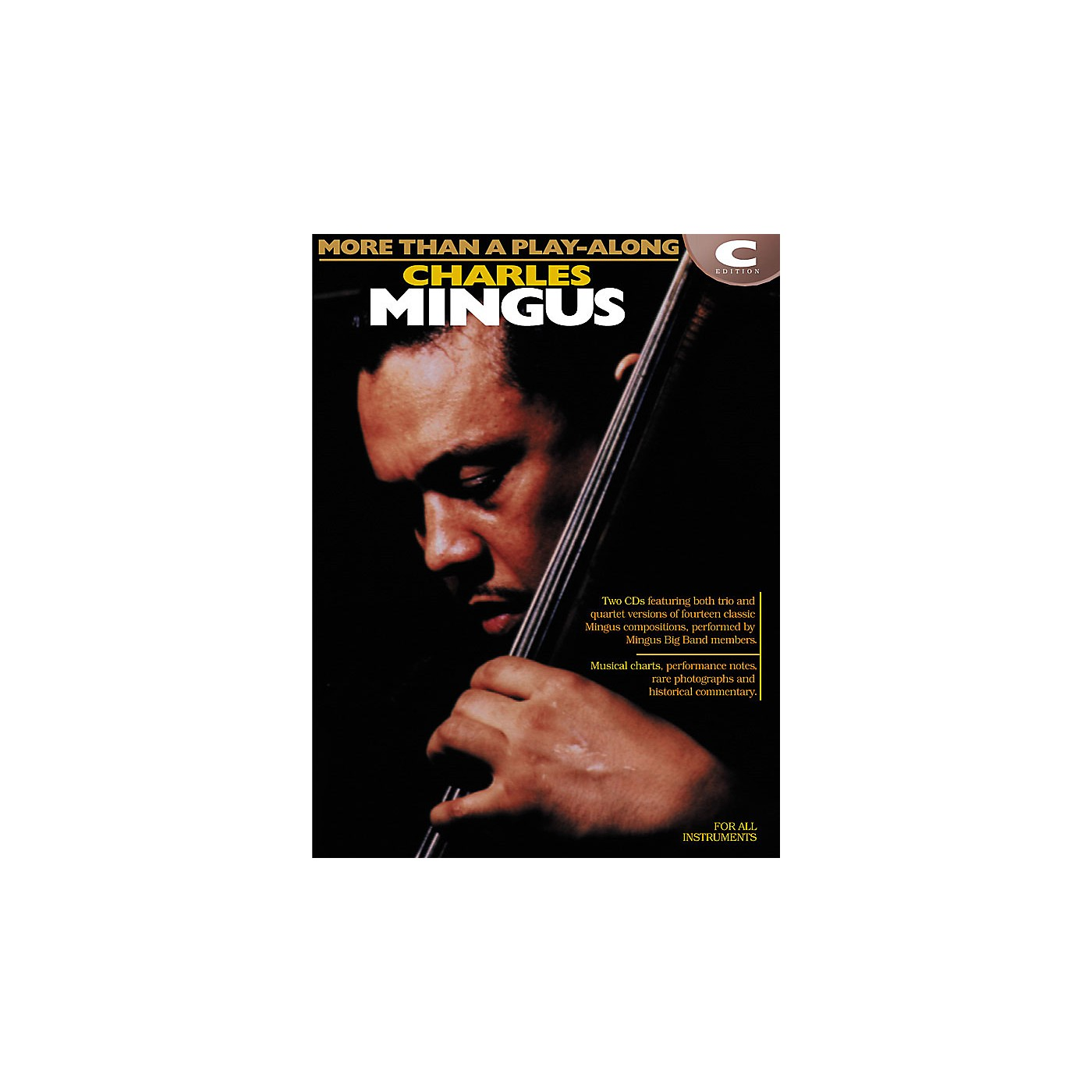 Hal Leonard Charles Mingus - More Than a Play-Along Instrumental Jazz Series Softcover with CD by Charles Mingus thumbnail