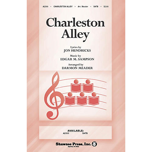 Shawnee Press Charleston Alley SATB composed by Jon Hendricks thumbnail