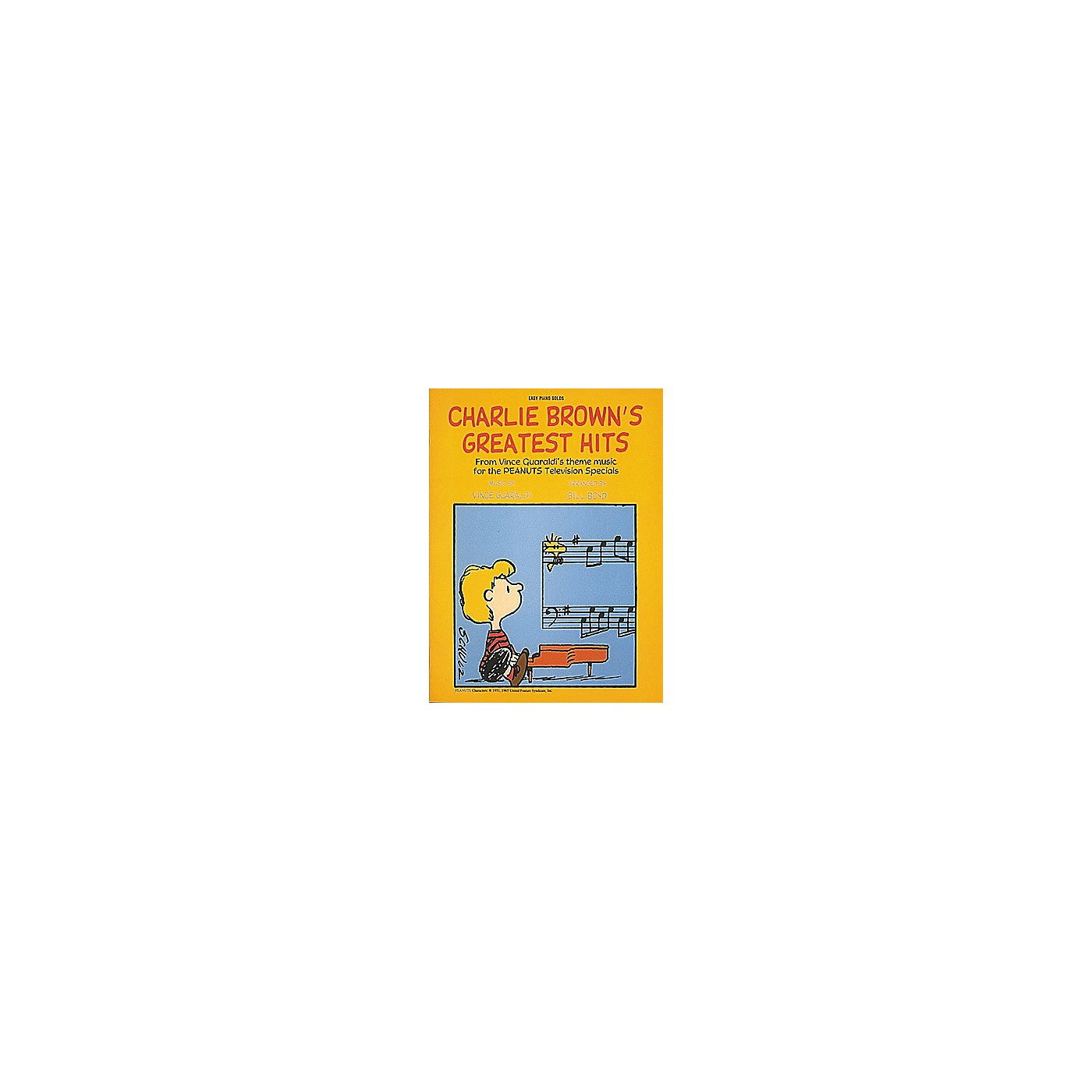 Hal Leonard Charlie Brown's Greatest Hits For Easy Piano by Dan Fox thumbnail