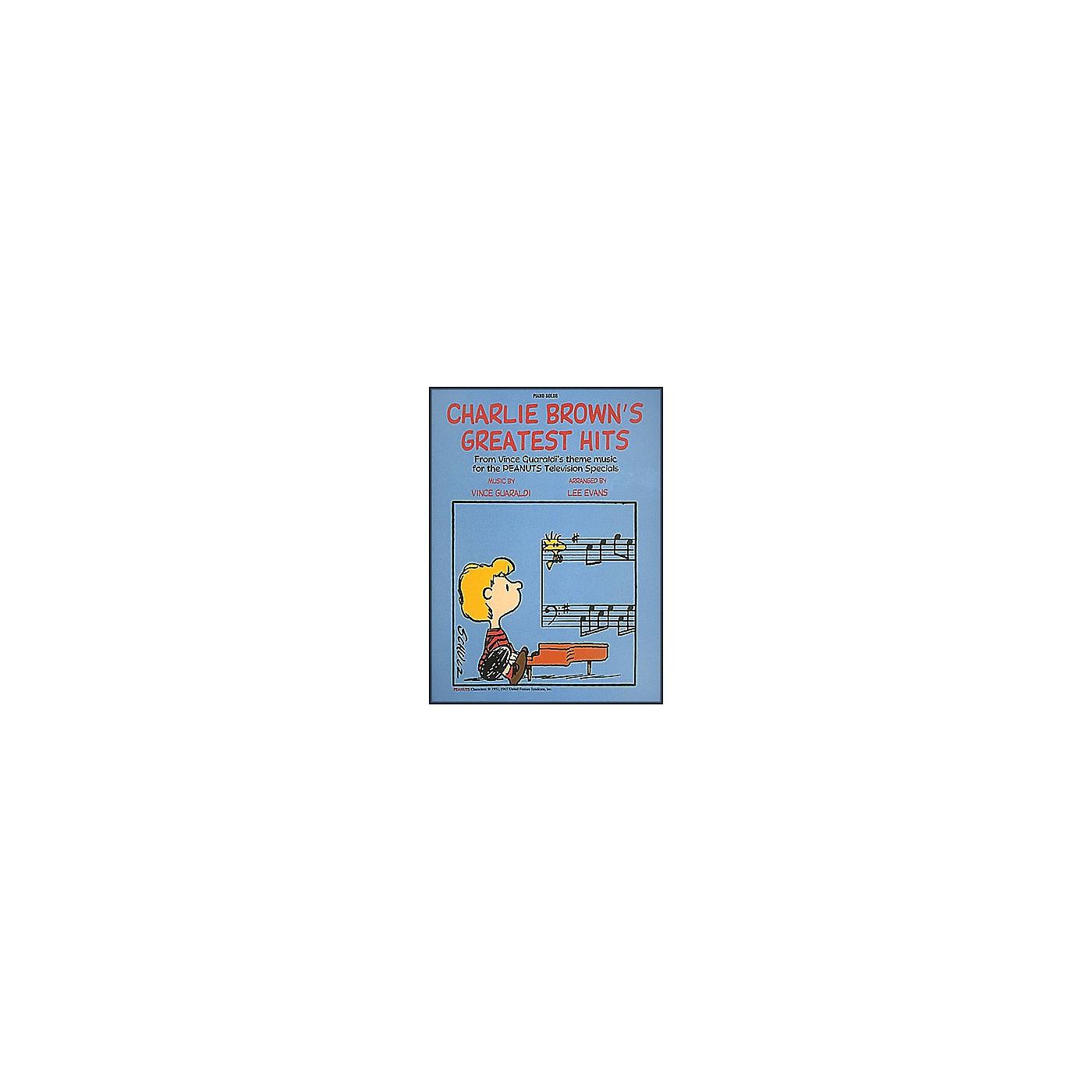 Hal Leonard Charlie Brown's Greatest Hits Piano Solos thumbnail