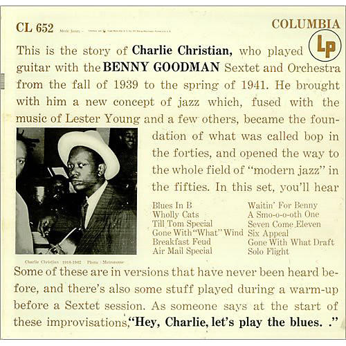 Alliance Charlie Christian - With the Benny Goodman Sextet thumbnail