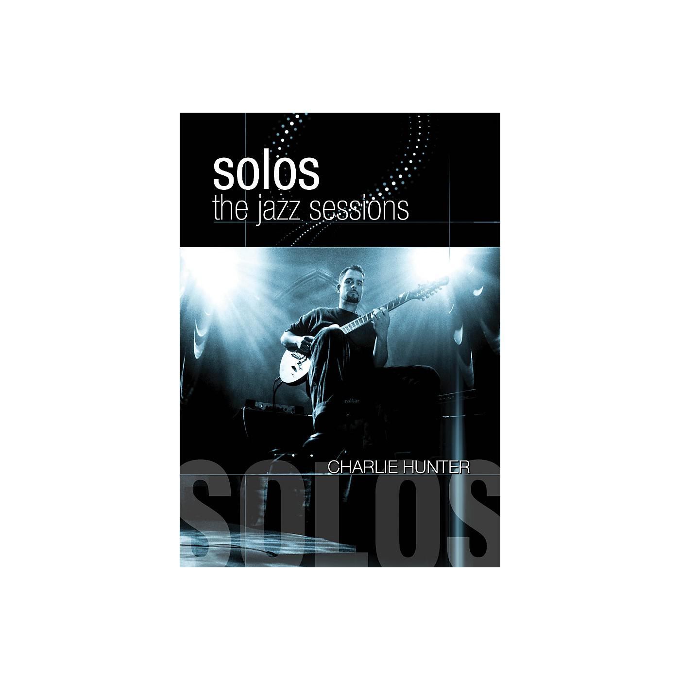 Hal Leonard Charlie Hunter - Solos: The Jazz Sessions DVD thumbnail
