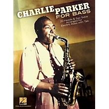 Hal Leonard Charlie Parker For Bass