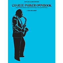 Hal Leonard Charlie Parker Omnibook - CD Play-Along Edition (3-CD Pack)