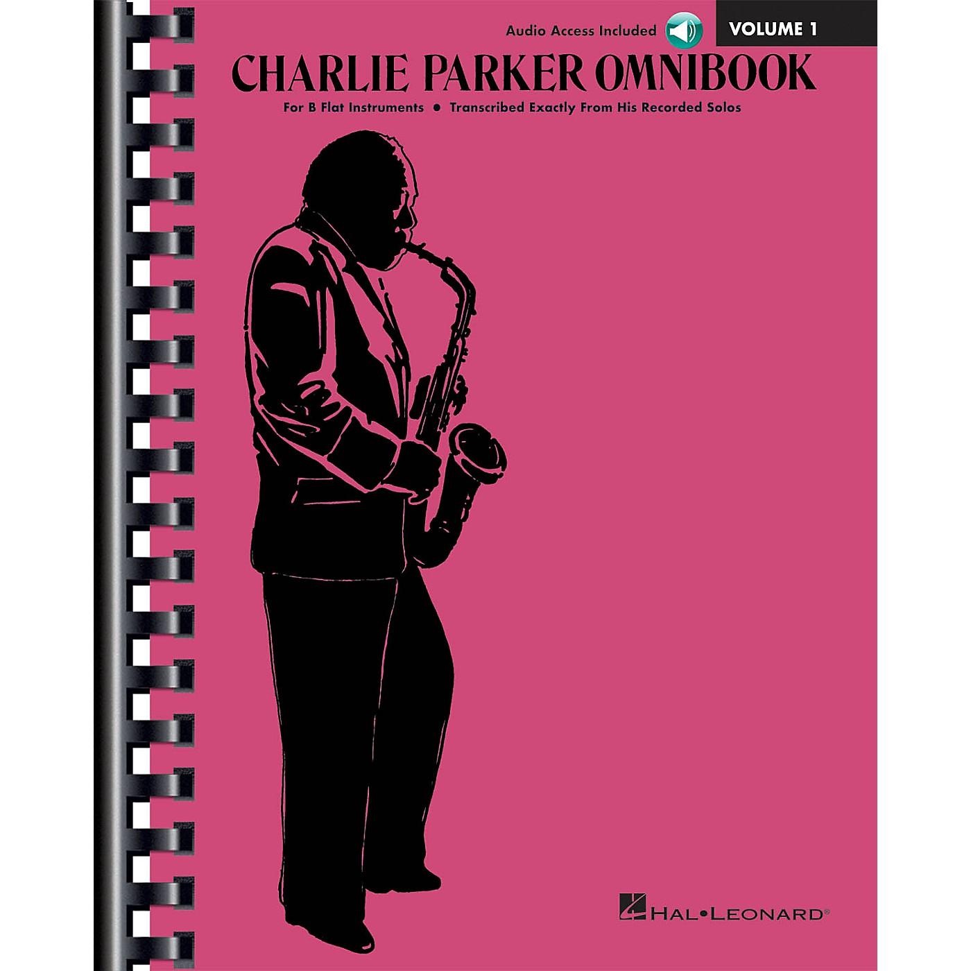 Hal Leonard Charlie Parker Omnibook - Volume 1 B-Flat Instruments Edition Book/Online Audio thumbnail