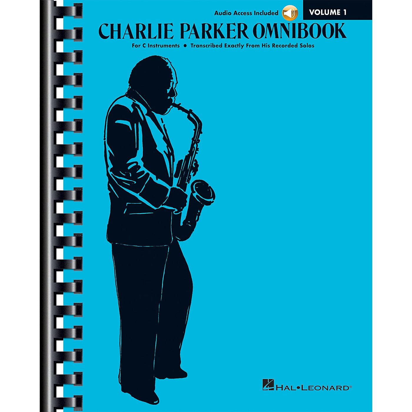Hal Leonard Charlie Parker Omnibook - Volume 1 C Instruments Edition Book/Online Audio thumbnail