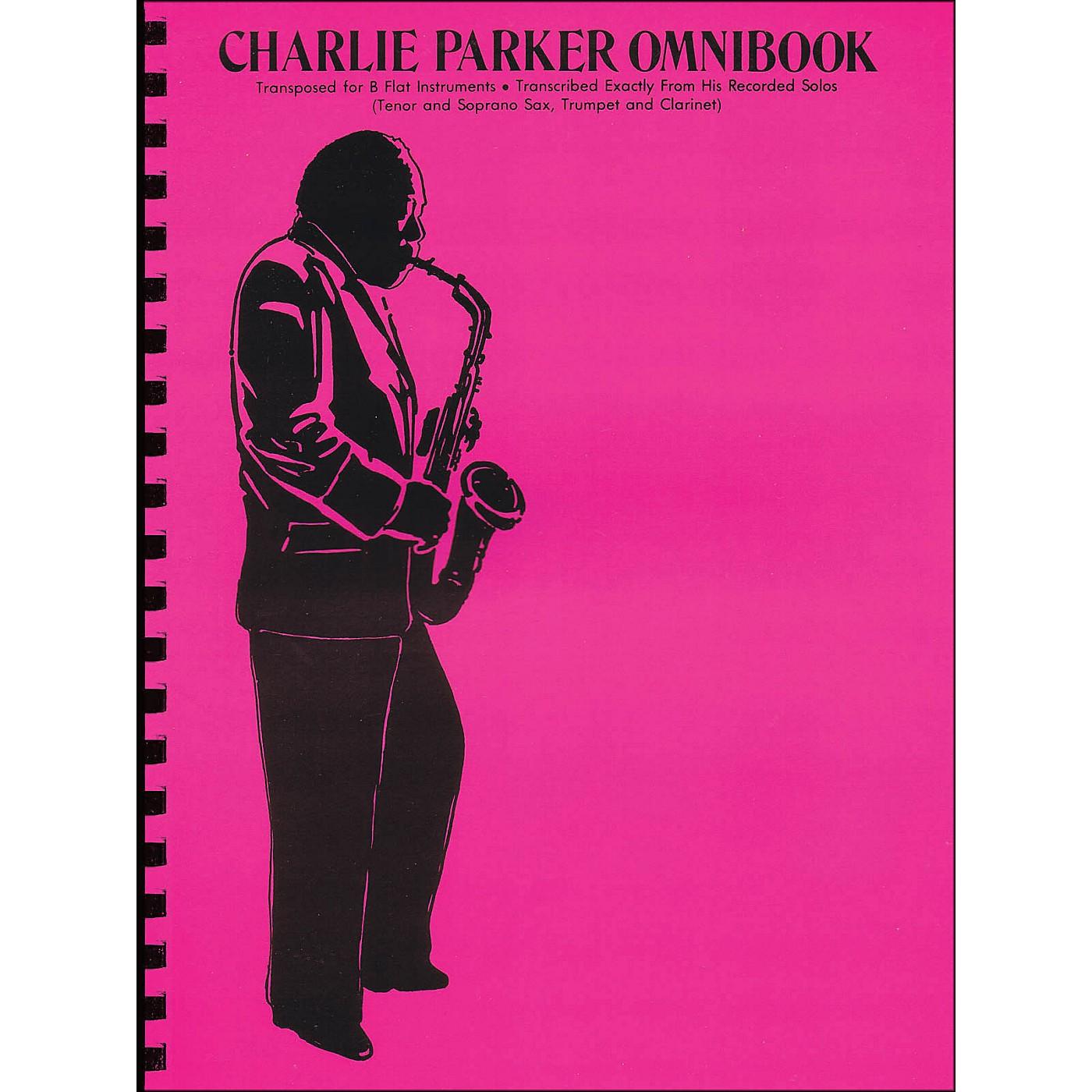 Hal Leonard Charlie Parker Omnibook for B Flat Instruments thumbnail