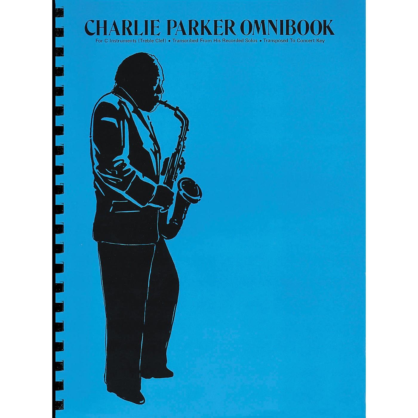 Hal Leonard Charlie Parker Omnibook for C Instruments Treble Clef thumbnail