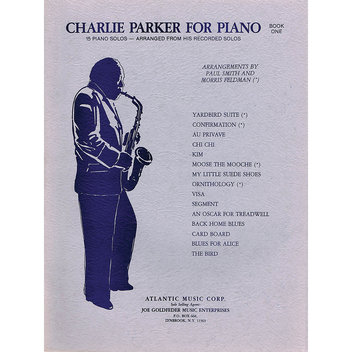 Criterion Charlie Parker for Piano - Book 1 Criterion Series Softcover Performed by Charlie Parker thumbnail