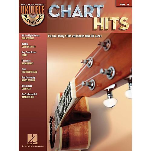 Hal Leonard Chart Hits - Ukulele Play-Along Series Volume 8 Book/CD thumbnail
