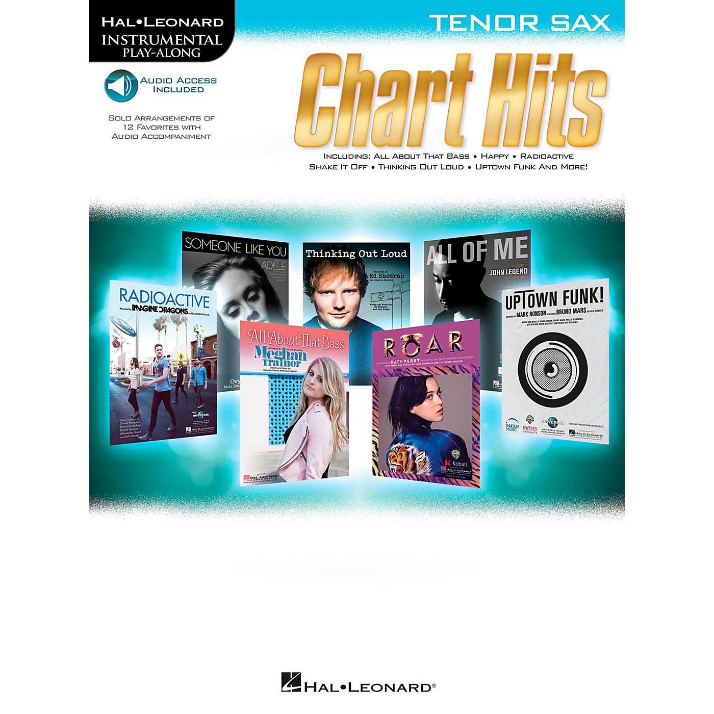 Hal Leonard Chart Hits For Tenor Sax - Instrumental Play-Along (Book/Online Audio) thumbnail