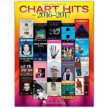 Hal Leonard Chart Hits of 2016 - 2017 P/V/G Piano/Vocal/Guitar