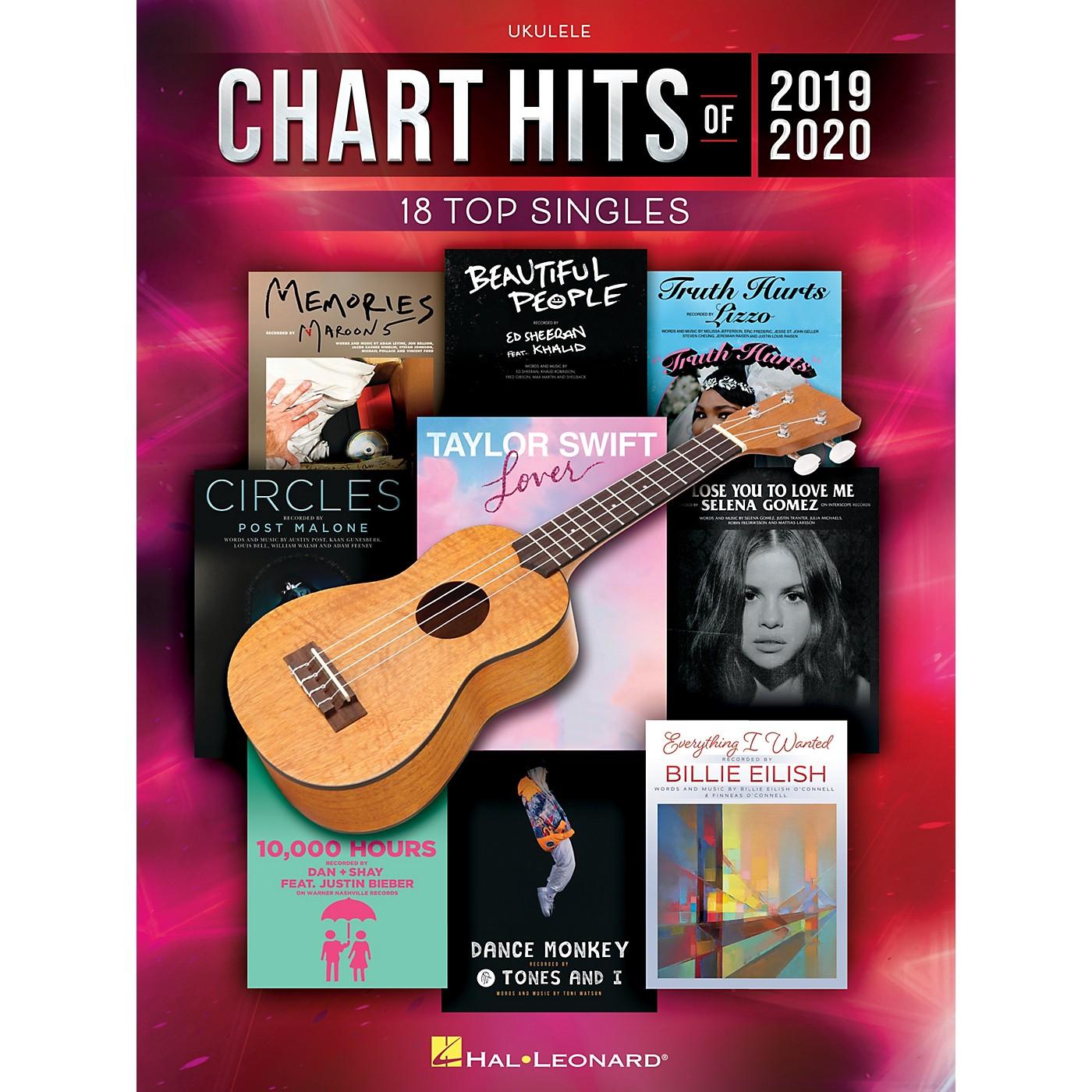 Hal Leonard Chart Hits of 2019-2020 for Ukulele thumbnail