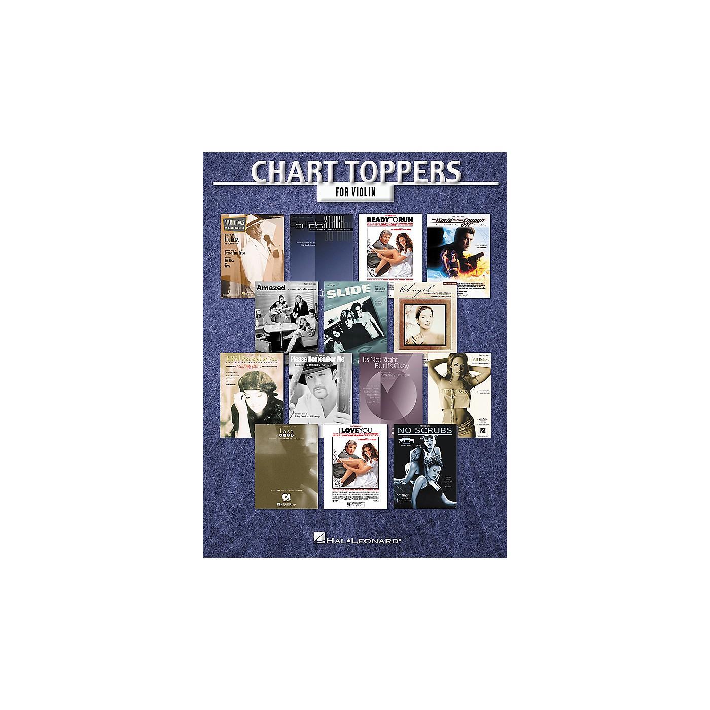 Hal Leonard Chart Toppers Instrumental Folio Series thumbnail