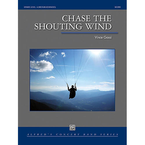 Alfred Chase the Shouting Wind Concert Band Grade 4 Set thumbnail