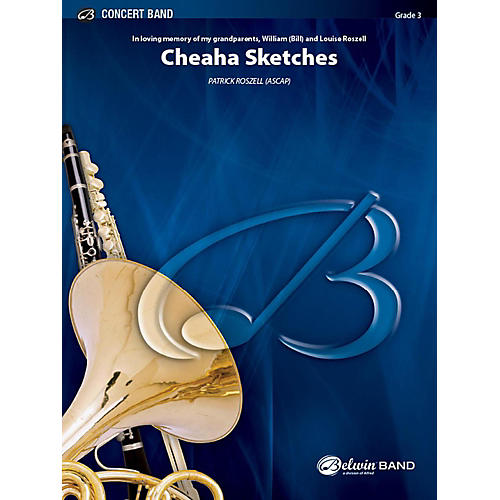 Alfred Cheaha Sketches Concert Band Grade 3 Set thumbnail