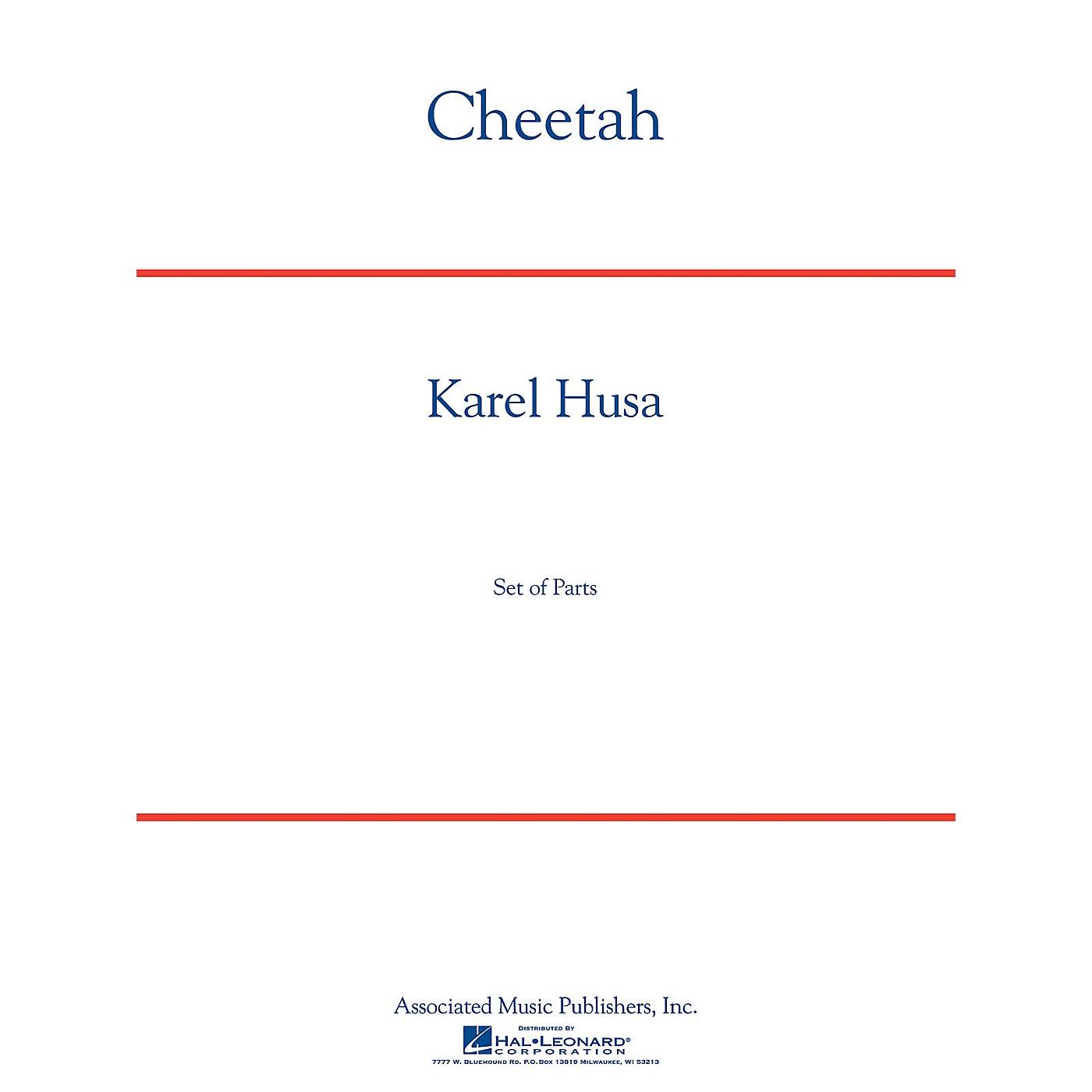 G. Schirmer Cheetah Concert Band Level 5 Composed by Karel Husa thumbnail
