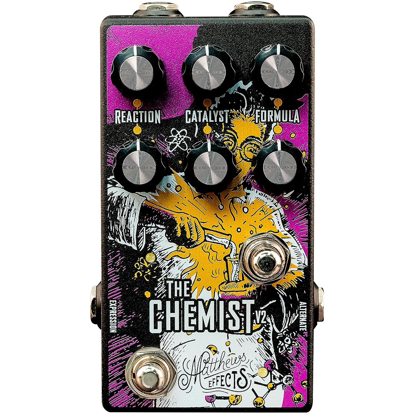 Matthews Effects Chemist V2 Octave, Chorus, Phaser Effects Pedal thumbnail