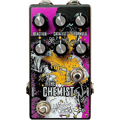 Matthews Effects Chemist V2 Octave, Chorus, Phaser Effects Pedal thumbnail