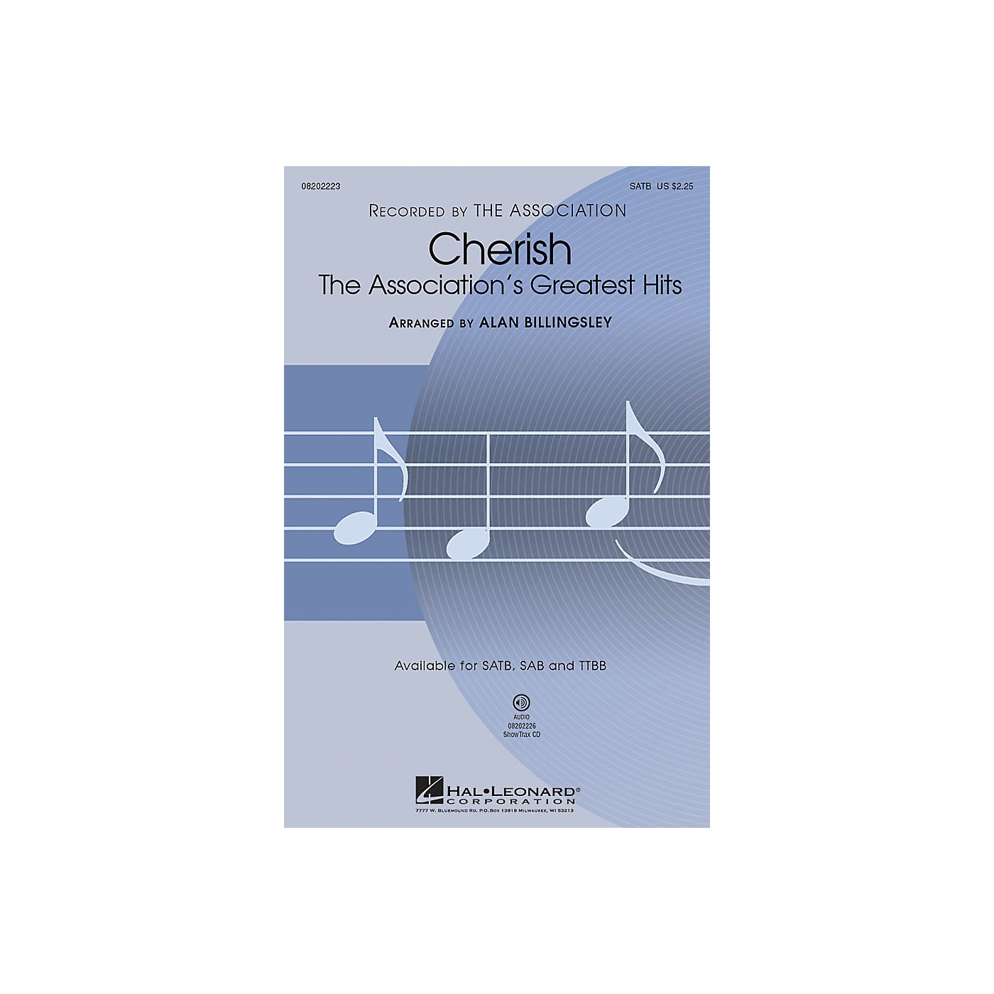 Hal Leonard Cherish (The Association's Greatest Hits) (Medley) ShowTrax CD Arranged by Alan Billingsley thumbnail