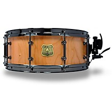 OUTLAW DRUMS Cherry Stave Snare Drum with Black Chrome Hardware