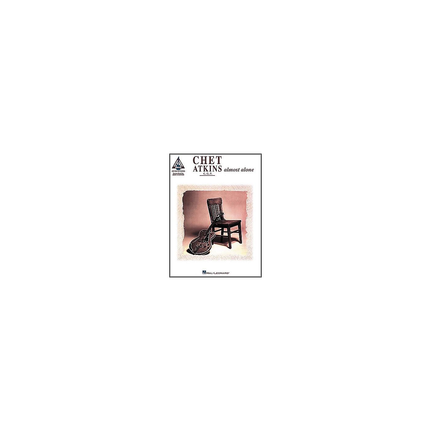 Hal Leonard Chet Atkins - Almost Alone Guitar Tab Book thumbnail