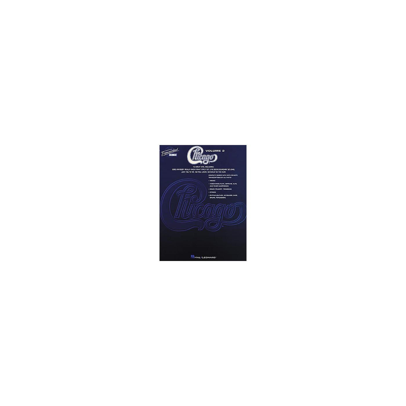 Hal Leonard Chicago - Volume 2 Book thumbnail