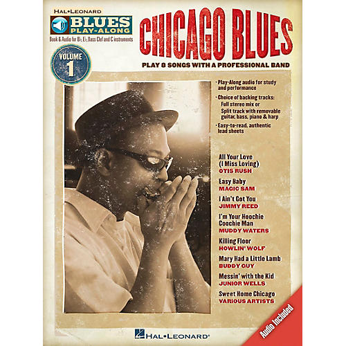 Hal Leonard Chicago Blues - Blues Play-Along Volume 1 (Book/CD) thumbnail
