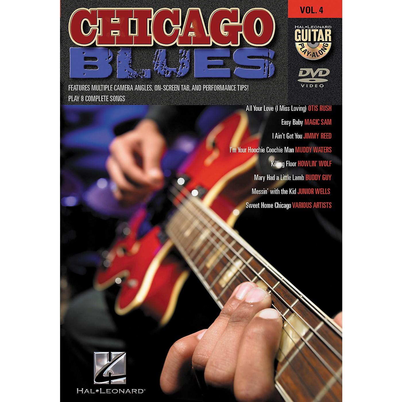 Hal Leonard Chicago Blues Guitar Play-Along Series Volume 4 DVD thumbnail