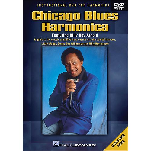 Hal Leonard Chicago Blues Harmonica DVD - Featuring Billy Boy Arnold-thumbnail