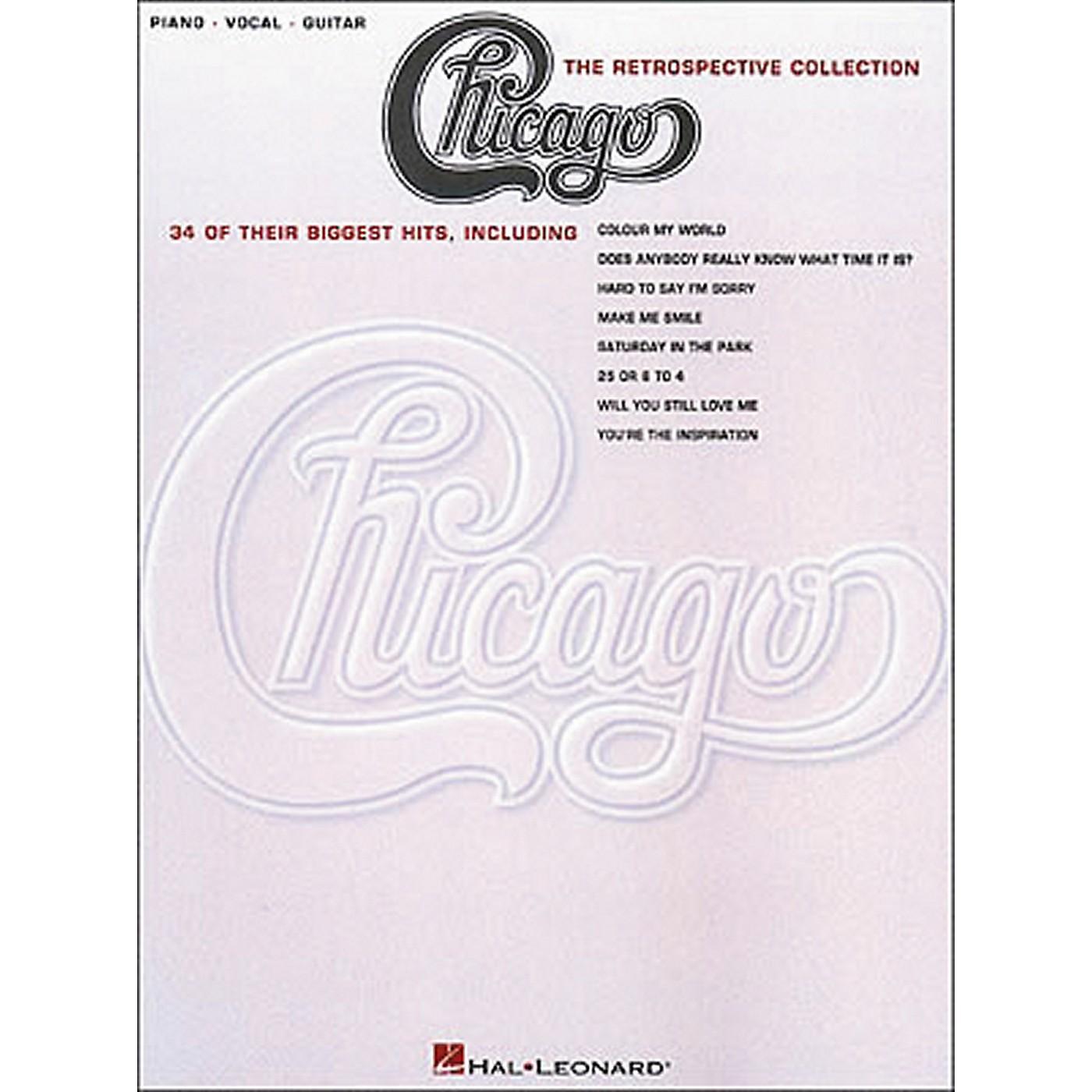 Hal Leonard Chicago the Retrospective Collection Piano, Vocal, Guitar Book thumbnail