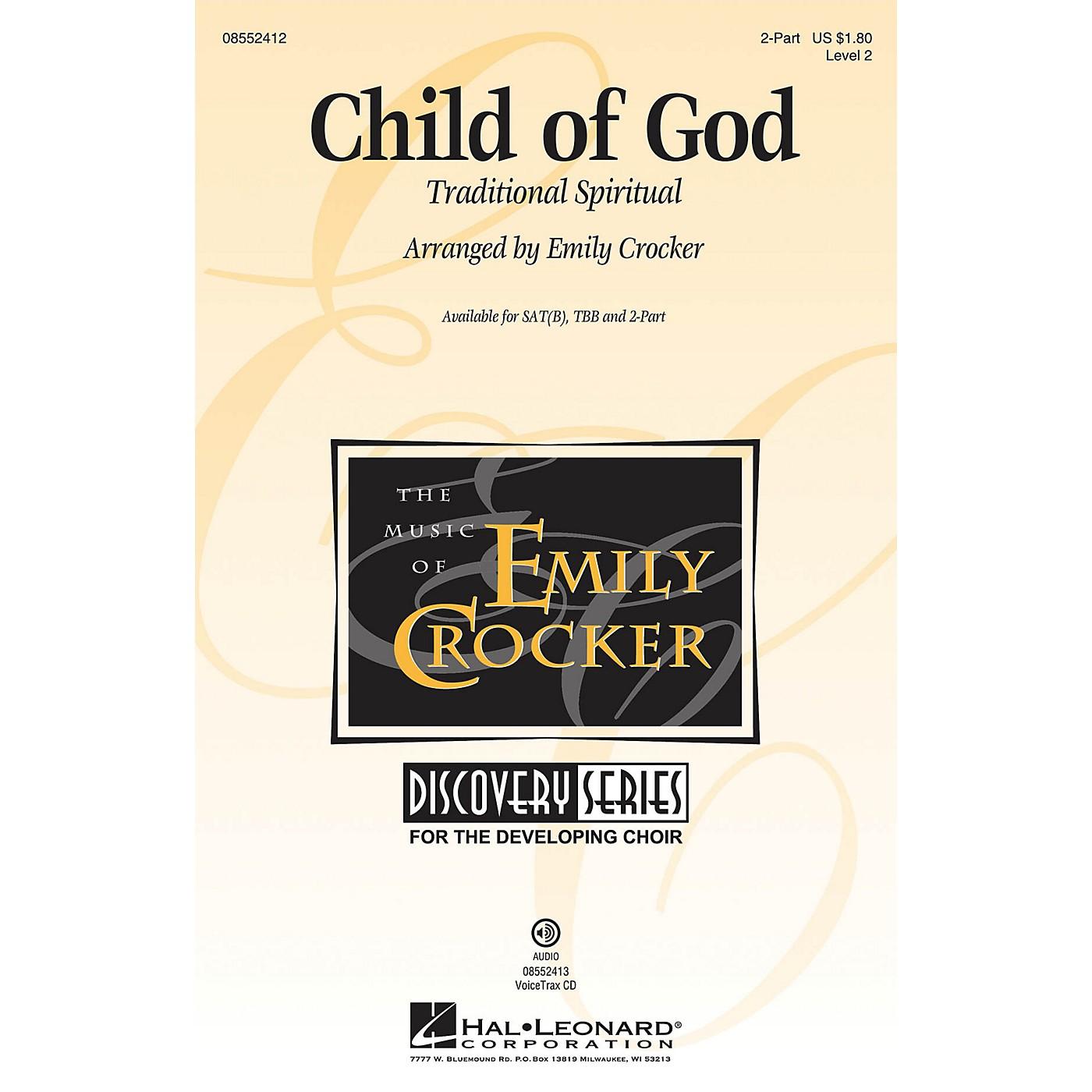 Hal Leonard Child of God (Discovery Level 2) 2-Part arranged by Emily Crocker thumbnail