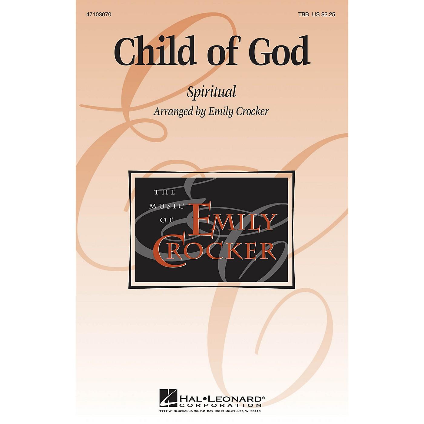 Hal Leonard Child of God TBB arranged by Emily Crocker thumbnail